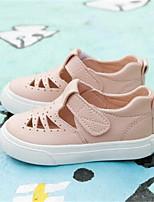 Girls' Sandals Spring Fall Comfort PU Outdoor Casual Flat Heel Walking