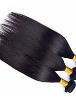 Cabelo Humano Ondulado Cabelo Brasileiro Retas 12 meses 3 Peças tece cabelo