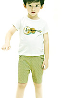 Boys' Casual/Daily Animal Print Sets,Cotton Summer Clothing Set