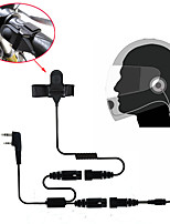 Motorcycle Full Face Helmet Headset Earpiece for Two Way Radio  Walkie Talkie 365 Baofeng Kenwood Wanhua