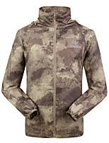 Homme Camping / Randonnée Respirable Printemps Eté Automne Camouflage Olive-Sportif