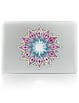 1 ед. Защита от царапин Цветы Прозрачный пластик Стикер для корпуса Сияющий в темноте Узор ДляMacBook Pro 15'' with Retina MacBook Pro 15
