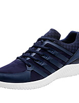 Men's Sneakers Spring Summer Mary Jane Fabric Outdoor Athletic Casual Flat Heel Lace-up Running