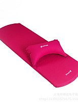 Moistureproof/Moisture Permeability Inflated Mat Red Hiking Camping Traveling