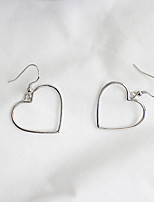 Drop Earrings Sterling Silver Simple Style Fashion Silver Jewelry Wedding Party Halloween Daily Casual Sports 1 pair