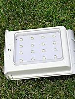 Lâmpada de parede solar luzes de jardim à prova d'água ao ar livre