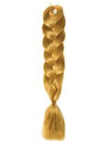 1 Pack Golden Jumbo Braids Hair Extensions Kanekalon Hair Braids Crochet 24inch Fiber 100g