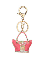 Key Chain Key Chain Pink Metal