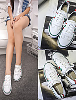 2017 leather flat shoes white shoes Korean version of casual sneakers shoes