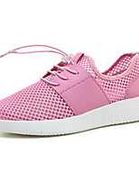 Women's Sneakers Spring Summer Comfort Couple Shoes Tulle Outdoor Athletic Casual Flat Heel Gore Running