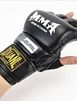 Боксерские перчатки Тренировочные боксерские перчатки для Бокс Без пальцев Дышащий Защитный Легкие Анатомический дизайн PU Кожа Губка