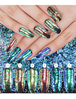 8box Manucure Dé oration strass Perles Maquillage cosmétique Nail Art Design