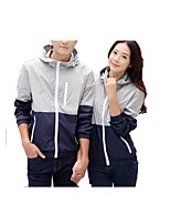 Unisex Tops Camping / Hiking Waterproof Quick Dry Lightweight Materials Comfortable Sunscreen Spring Summer Fall/Autumn Green Gray Orange-