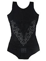 Serre Taille Vêtement de nuit Femme,Push-up Couleur Pleine-Moyen Nylon Aux femmes