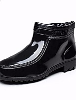 Women's Boots Spring Winter Slingback Leather Casual Chunky Heel Walking