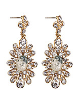 Women's Drop Earrings Jewelry Fashion Vintage Gem Alloy Jewelry Jewelry For Party Gift Casual