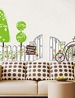 Cartoon Wall Stickers Plane Wall Stickers Decorative Wall Stickers,Vinyl Material Home Decoration Wall Decal