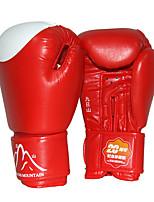 Боксерские перчатки для Бокс Рукавицы Защитный PU Черный Красный Синий
