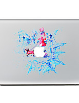 For MacBook Air 11 13/Pro13 15/Pro With Retina13 15/MacBook12 Dogs And People Decorative Skin Sticker