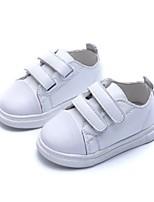 Girls' Sneakers Spring Summer Comfort Cowhide Casual Flat Heel