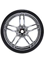 General RC Tire Neumático Coches RC / Buggy / Camiones Rojo Plata Goma Plástico
