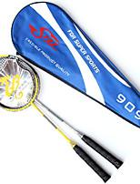 Raquettes de Badminton Durable Alliage d'aluminium 1 Pièce pour Intérieur Extérieur Utilisation Exercice Sport de détente-#