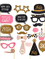 Photo Booth Props For New Fashion Wedding Valentine's Day Birthday Baby Shower Party  Decorations 15 Styles To Choose