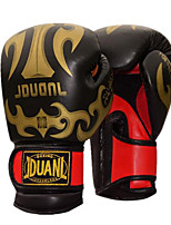 Boxing Gloves for Boxing Full-finger Gloves Protective PU White Black Red