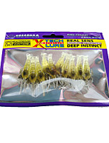 1 pcs Soft Bait Yellow 14 g Ounce mm inch,Plastic General Fishing