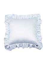 Turqua PRINCESS ANNA European Pillowcase 100% Cotton Decorative Border Frill Baby Pink Princess Cushion Cover Free Shipping