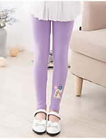 Girls' Casual/Daily Solid Pants-Cotton Spring Fall
