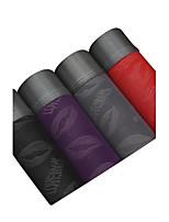 Sexy Imprimé Imprimé Boxers-Coton Polyester Soie Glacée
