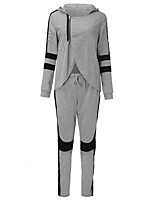 Europe sexy lo shi hot new hit color cultivating long-sleeved track suit suit stitching irregular