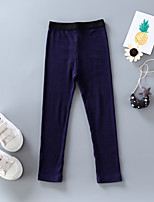 Girls' Casual/Daily Sports Solid Pants Spring Fall