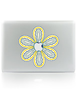 1 pièce Anti-Rayures Fleur En Plastique Transparent Décalcomanie Glow in the Dark Motif PourMacBook Pro 15'' with Retina MacBook Pro 15