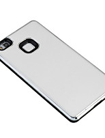 For Huawei P9 Lite P8 Lite Cover Case Plating Back Cover Case Solid Color Hard PC Honor 5A