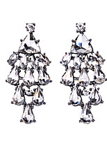 Women's Drop Earrings Jewelry Fashion Gem Alloy Jewelry Jewelry For Party Gift Casual