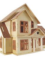 Puzzles Kit de Bricolage Blocs de Construction Puzzles 3D Jouet Educatif Puzzle Puzzles en bois Blocs de Construction Jouets DIY Carré
