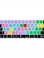 xskn® efeitos depois de atalho teclado pele de silicone para 2016 novo MacBook Pro de 13,3 / 15,4 com retina barra de toque (US / layout