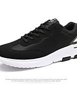 chaussures de sport pour hommes printemps confort chute d'hiver d'été en plein air athlétique pu courir à lacets occasionnels