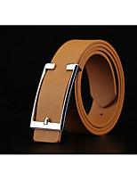Men's Alloy Waist Belt,Casual Velcro