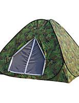 1 personne Unique Une pièce Tente de campingRandonnée Camping Voyage-Camouflage