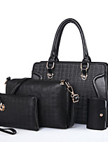 Women PU Formal Sports Casual Outdoor Office & Career Bag Sets