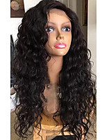 100% Brazilian Human Virgin Hair Lace Wig Full Lace Natural Loose Wave Lace Wig Glueless with Baby Hair