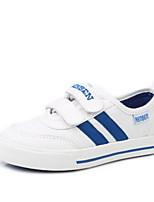 Белый-Девочки-Для прогулок Повседневный-Полотно-На плоской подошве-Удобная обувь-Кеды