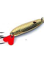1 pcs Hard Bait Gold 13 g Ounce mm inch,Metal General Fishing