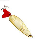 1 pcs Hard Bait Gold 5 g Ounce mm inch,Metal General Fishing