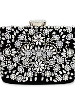 L.west Women Elegant High-grade Luxury Diamonds Evening Bag