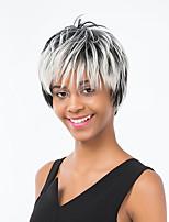 Fluffy Gradient Color Short Hair  Hairl Human Hair