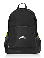 25 L Compression Pack Backpack Camping & Hiking Fitness Leisure Sports Traveling Indoor OutdoorReflective Strip Wearable Compact
